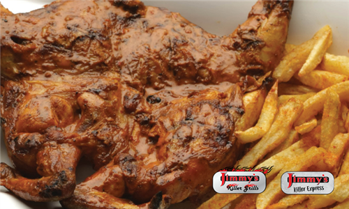 Pick-Up: Jimmy's Hot Chicks Family Meal at Jimmy's Killer Grills & Jimmy's Killer Express, East Rand