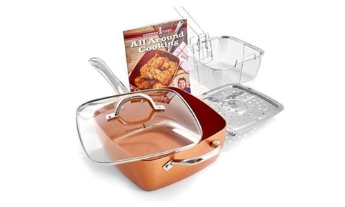 Copper Chef – 5 Piece Square Pan Set Including Delivery