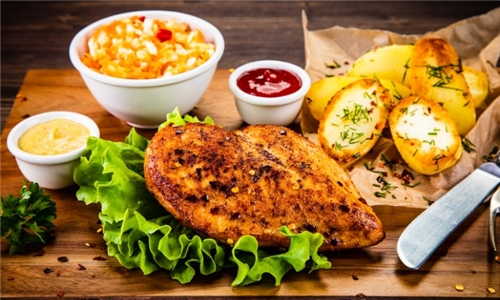 Pick-Up: Date Night at Home with Chargrilled Chicken Breasts, 4 x Sides and Dessert from Al's Place Restaurant