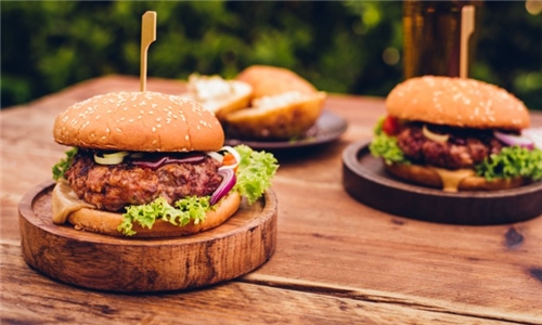 Delivery or Pick-Up: 200g ''Our Very Own'' Burger from Happy Bar & Grill SA