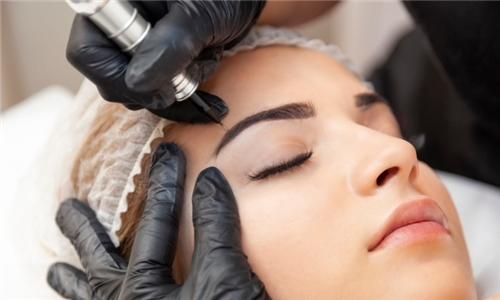 Microblading Session from EB Artistry