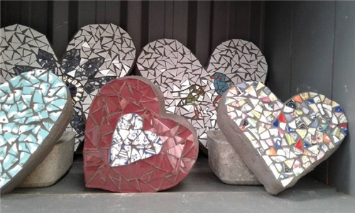 DIY Mosaic Kit Delivered to your Door from Organic Mosaics