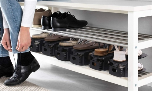 2 x Set of 6 Fine Living Shoe Organizer Including Delivery