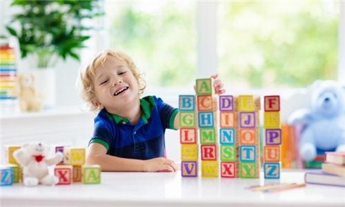 27-Piece Educational Wooden ABC Blocks Including Delivery