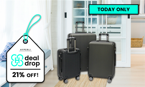 3-Piece Luggage Set Including Delivery