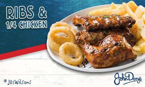 Choice of Combo Meal at John Dory's Wilson's Wharf