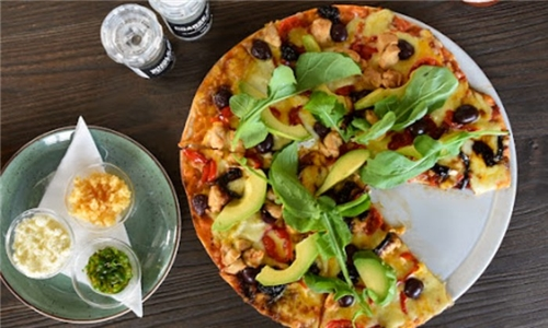 Pick-Up: Choice of 2 x Gourmet Pizza's from La Bien – Bakery, Bistro