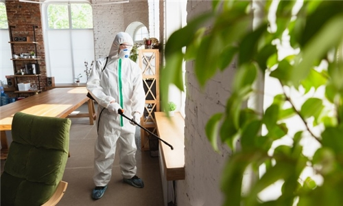Covid-19 Fogging Disinfection Services for a 1, 2 or 3 Bedroom House from R and R Pest Control