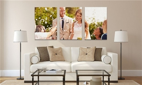 Personalised 3 Panels (200x200) Canvas Print with Printstagram