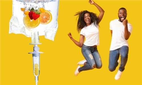 Choice of IV Drips – Vitamin C, Skin Glow or Immune Booster from Orthomolecular Solutions