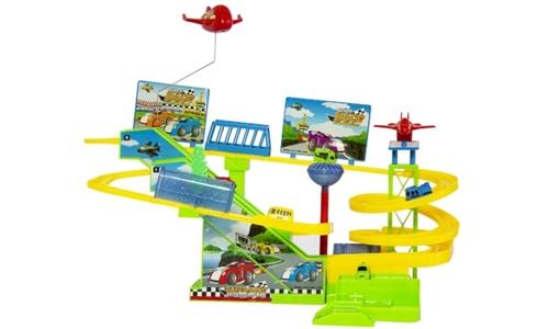 Kids Track Transportation Park Including Delivery