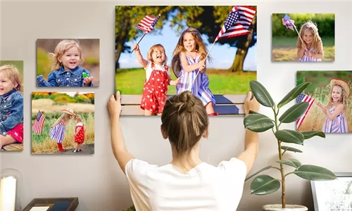 20-Piece Combo – Assorted Sized Canvas Prints at Mojo Printing