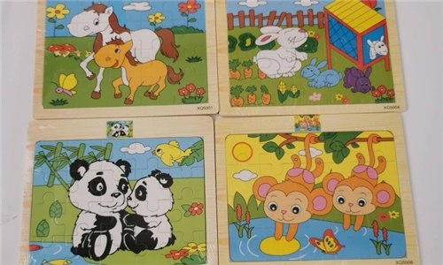 10 x 9-Piece Puzzle Sets from My Crafty World