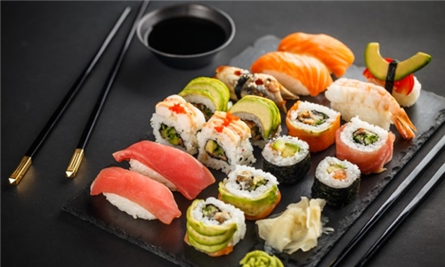 32-Piece Sushi Platter to Share at Tataki Oriental Restaurant Flamingo Shopping Centre