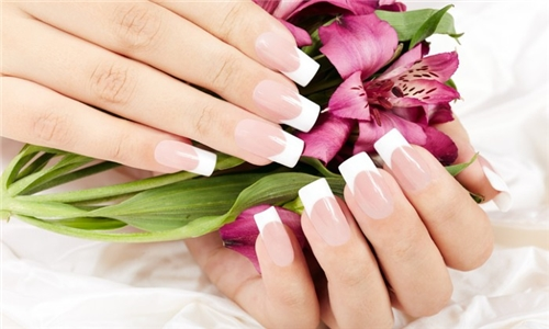 Acrylic Tips with Gel from Amanee Beauty Salon