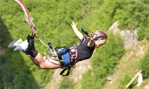 Bungee Jump Experience at Bungee Mogale