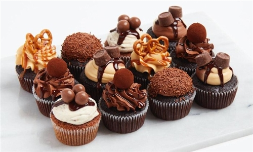 Choice of 12 or 24 Gourmet Cupcakes from Balls of Candy