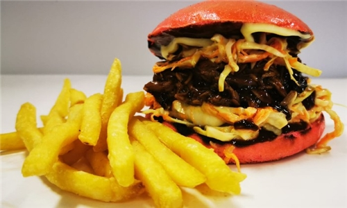 Choice of Classic Beef or Chicken Burger with Chips from Bake'n Burger