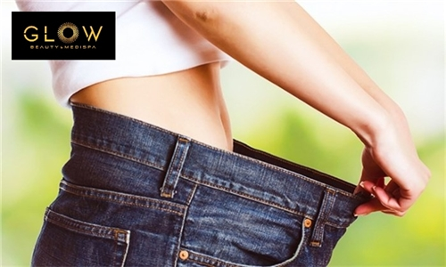 Cryolipolysis Fat Freezing Treatment Including Ultrasonic Cavitation and Radio Frequency Treatment from Glow Beauty & Medispa