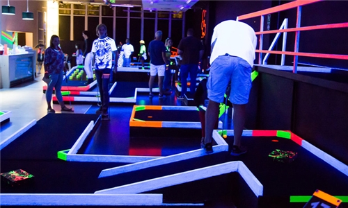 Entry for 18-Holes of Putt-Putt for Two at Glow Indoor Sports