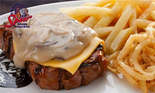 2-Course Meal: Choice of Starter and Main Meal at Tomahawk Spur Steak Ranch