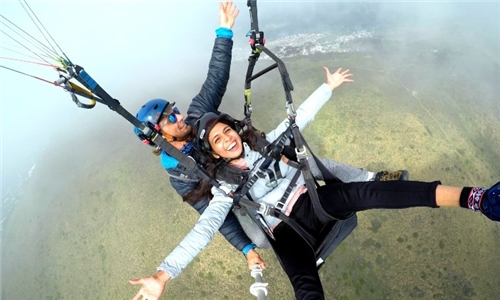 Tandem Paragliding Experience with Cape Hope Paragliding