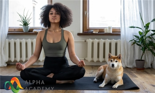 Online Course: Yoga and Mindfulness Training Certificate from Alpha Academy