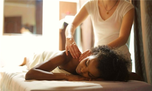 45-Minute Swedish Massage from The Purple Orchid Spa @ The Hyde Hotel