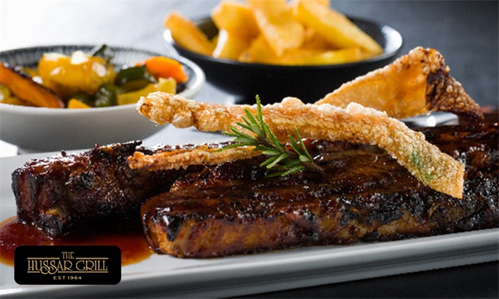 2-Course Dining Experience: Main Meal & Dessert from Hussar Grill GrandWest