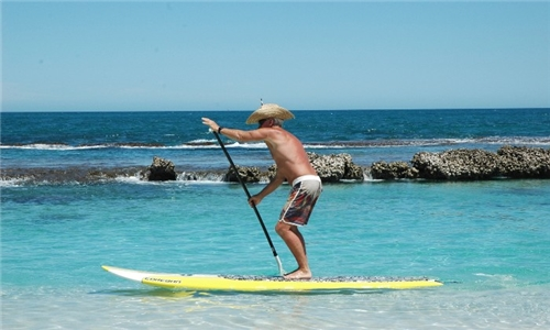 1-Hour Stand Up Paddle Hire from Cape Town Surf School