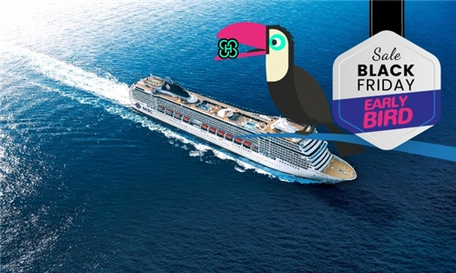 8 March 2021: 4-Night Durban to Pomene Cruise for Two Adults Aboard the MSC Orchestra