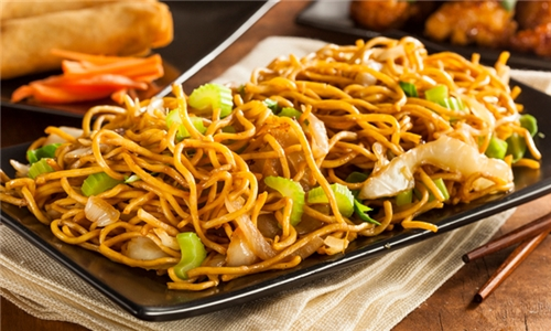 Large Chicken Chow Mein Including Delivery from Ri Sushi