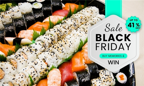 Weekday Special: 32 or 64-Piece Sushi Platter from Kobe Sushi Bar, Newlands