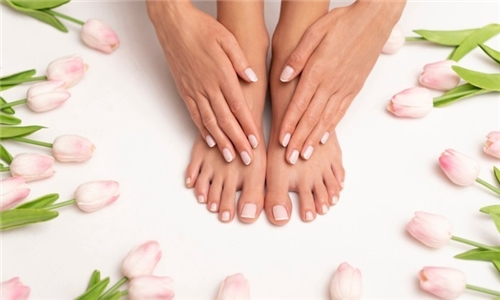 Mini-Manicure and/or Mini-Pedicure with Gel Polish Overlay from Blown Away Hair and Nails