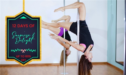 Pole Dancing or Aerial Class Lessons at Sultry Studios