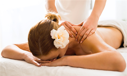 Full Body Massage Including Back Scrub from Mobby Day Spa