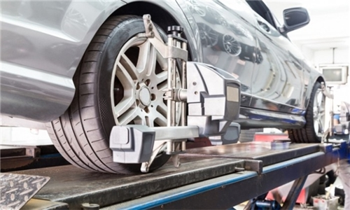3D Wheel Alignment with Optional Rotation and Balancing at Fitment Fanatics