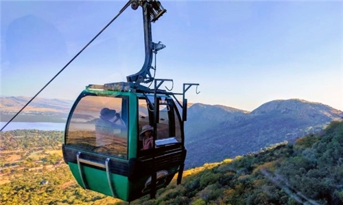 Couples Cable Car and luxury Mountain Top Spa Package from Pamensky Spa at Aerial Cableway