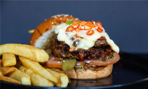 Choice of Burger and Chips at Engruna Eatery