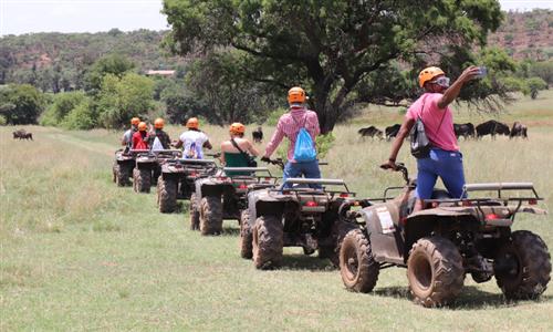 Quad Bike Safari Experience at Adventure Zone Africa – Monument