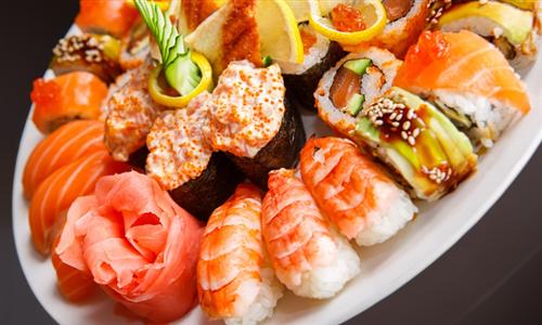 24 or 50-Piece Sushi Platter at Kiwondo's Sushi