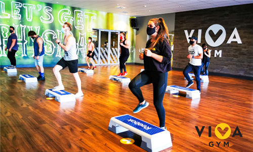 1 or 3-Month All-Inclusive Gym Membership at VIVA Gym, Fouways