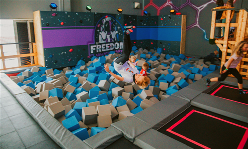 1 or 2-Hour Play Time Session for 2 x Kids at Freedom Adventure Park