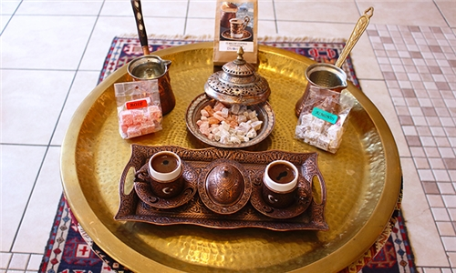 Turkish Delight Pairing with Turkish Coffee at Turkspirit Cafe
