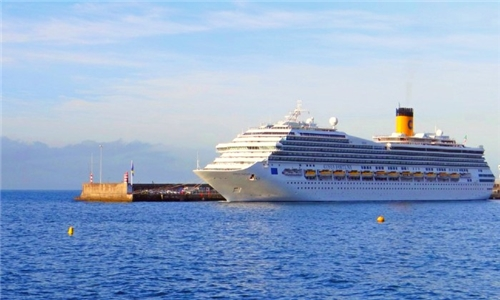 December 2021: Luxury Cruise: 11-Night France, Canary Islands, Antilles Cruise for Two Aboard the Costa Fortuna