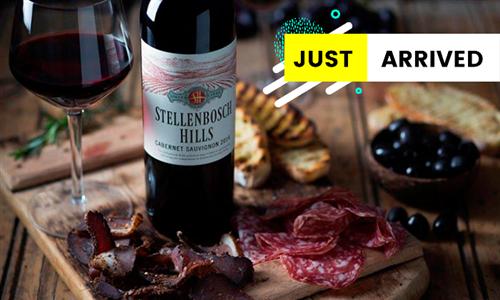 Wine and Biltong Pairing from Stellenbosch Hills