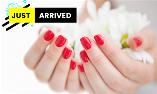 Deluxe Manicure or Pedicure with Gel from Amanee Beauty Salon