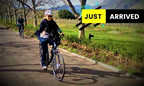 E-Bike Wine Farm Tour Including Complimentary Wine Tasting with Vine Bikes