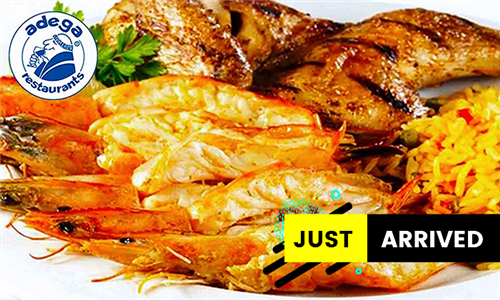 Familia Platter: Prawn and Chicken Combo to Share from Adega
