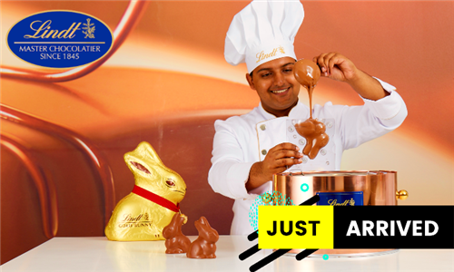 Easter Weekend Exclusive: Lindt Gold Bunny Moulding Class for Two at Lindt Chocolate Studio, V&A Waterfront